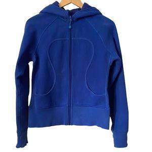 Lululemon Scuba hoodie royal blue 6
